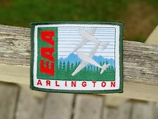 """Northwest EAA Fly-In Arlington WA Air Show Washington Embroidered Patch 3 1/4"""""""