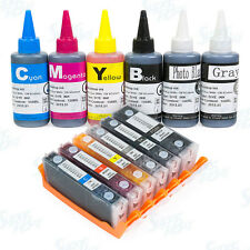 Refillable Cartridge Kit with Ink Set for Canon PGI-270 CLI-271 XL PIXMA MG7720