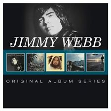 JIMMY WEBB 5CD NEW Words And Music/And So: On/Letters/Land's End/El Mirage
