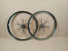 "Crank Brothers Sage Freeride XC 26"" Tubeless Wheels Wheelset - Green USED 060"