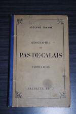 Géographie du Pas de Calais - Adolphe Joanne