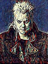 The Lost Boys Kiefer Sutherland Original Horror Movie Art Poster 18x24
