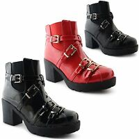 New Womens Ladies High Heel Cut Out Elasticated Panels Chelsea Ankle Boots Shoes