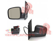 VW CADDY 2004-2010 Left Electric Wing Door Mirror Left Hand Drive
