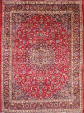 "Low Price 10x13 Mashad Persian Area Rug Oriental Wool Carpet 12' 11"" x 9' 7"""