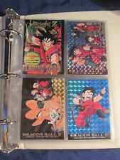 1996 DRAGONBALL Z, Base card set, wrapper, notebook & Pages