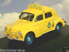 "1/43 RENAULT 4CV BERLINE ""TS"" TOURING SECOURS BELGE (BELGIAN AA/RAC) YELLOW 1958"