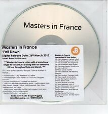 (DQ434) Masters In France, Fall Down - 2012 DJ CD