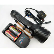 TrustFire 5xCREE XM-L2 LED Diving Flashlight Torch Underwater Diver Light Set UK