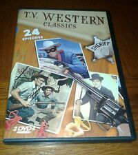 TV Western Classics (DVD, 2010, 2-Disc Set) WORLDWIDE SHIP AVAIL