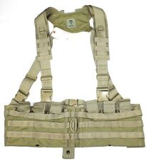 S.O. Tech MJK Khaki H-Harness Molle Rifle Chest Rig EAGLE INDUSTRIES SFLCS LBT