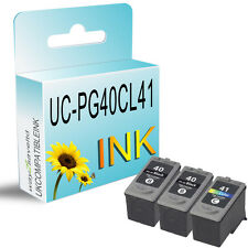 3 Ink Cartridge for PG40 CL41 Pixma MP210 MP220 MP450 MP460 MP470 MX300