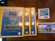 Overaasen Snowremoval Systems RS 400 4 Manual Set W/ CD