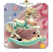 rocking horse mold 098 Sugarcraft Molds Polymer Clay Molds Cake Decorating Tools