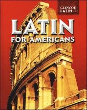 Latin for Americans Level 1 Student Edition, McGraw-Hill, Good Book