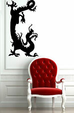 Wall Stickers Vinyl Decal Chinese Dragon Fantasy Mythical Creatur ig168