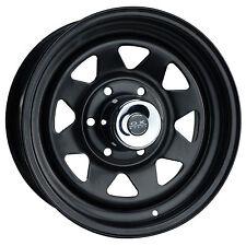 """16x7"""" 6x139.7 0P Terrain Black Steel Wheel Some Ford Holden Isuzu Toyota SUV 4WD"""