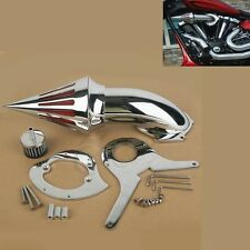 Chrome Air Cleaner Intake Filter For Honda Shadow Aero VT750 VT750C 2004-2009 08