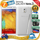 32GB SAMSUNG GALAXY NOTE 3 N9005 4G LTE UNLOCKED PHONE WHITE (NEW SEALED BOX)