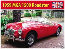 MG MGA Roadster 1959,Classico Britannico Auto Sportive Immagine,