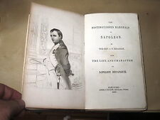 1853 Napoleon and His Marshals. Life & Character of Napoleon Bonaparte portraits