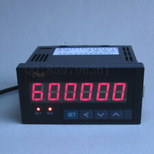 Digital LED 6 Bit Frequency Counter Meter  Relay Output