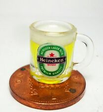 1:12 Scale Mug Of Lager Dolls House Miniature Pub Drink Accessory