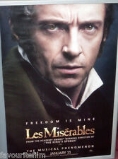 Cinema Poster: LES MISERABLES 2013 (Jean Valjean One Sheet) Hugh Jackman