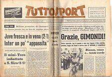 rivista TUTTOSPORT - 26/06/1972 N. 174 JUVE FRESCA, INTER APPASSITA - GIMONDI