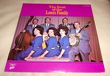 Lewis Family Best Of Sealed LP Starday SLP465 Stereo Gospel
