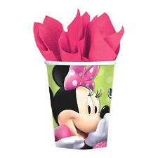 16 Disney Minnie Mouse Bowtique Pink Birthday Party 9oz Paper Cups