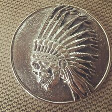 Grateful Dead Sterling Silver Buckle