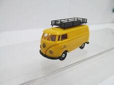 eso-13870 Brekina 1:87 VW T1 Post mit minimale Gebrauchsspuren,winzige Kratzer