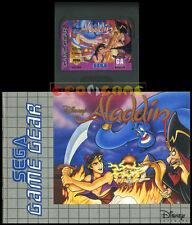 DISNEY'S ALADDIN Game Gear Versione Europea  ••••• CARTUCCIA E MANUALE