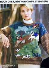 Knitting PATTERNS Womens Baby Sweaters Horse Aran Nordic Elephant Cable Fairisle
