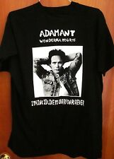 ADAM ANT alt rock Wonderful tour T shirt 1995 rare tee I'd Like to Carry Forever
