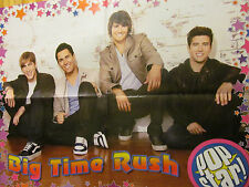 Big Time Rush, Alex Pettyfer, Double Four Page Foldout Poster
