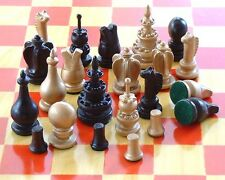 COURIER CHESS RENAISSANCE/MEDIEVAL SET from VAN LEYDEN'S PAINTING (249)