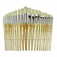 Paint Brush Set Acrylic Watercolor Oil Artist 24 Pcs Lot Paint Brush. Pre-School