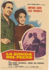 Programa de CINE. Título película: LA BANDA DEL PECAS.