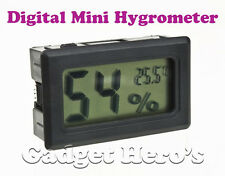 Digital Mini LCD Hygrometer Temperature Thermometer Humidity Meter Sensor Guage