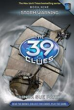 Storm Warning (The 39 Clues, Book 9) with 5 cards