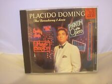 PLACIDO DOMINGO MUSIC CD IN VERY GOOD CONDITION (THE BROADWAY I LOVE)