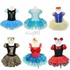 Xmas Girl Toddler Minnie Mouse Cosplay Party Ballet Tutu Fancy Top Dress Costume