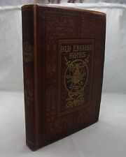 OLD ENGLISH HOMES SKETCH-BOOK ANTIQUE 19th CENTURY IGHTHAM PENSHURST KNOLE ETC