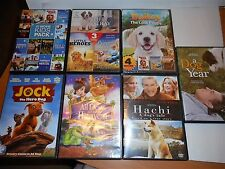 18 DOG movies on 7 DVDs- Great for Kids New Pet Owner/Lover-Summer Fun