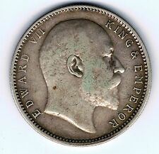 1904 India 1 one rupee silver coin - 11.6g