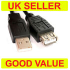 60cm USB 2.0 EXTENSION Cable Lead A Male to Female 0.6m SHORT