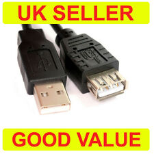 50cm USB 2.0 EXTENSION Cable Lead A Male to Female 0.5m SHORT