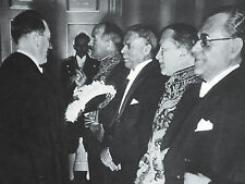Adolf Hitler Greeting Diplomats Francois-Poncet Hamdi Arpag 1937 Photo Article